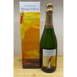 Champagne Cuvée La D. Blanche 1er Cru Blanc de Blancs Philippe Gilbert