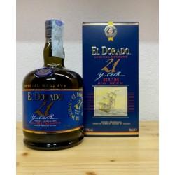 El Dorado 21 years old Finest Demerara Rum Special Reserve