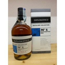 Diplomatico Distillery Collection N° 1 Batch Kettle Ron Extra Anejo