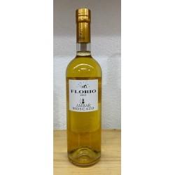 Ambar Moscato Terre Siciliane igt liquoroso Florio