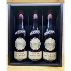 Confezione Archivio Storico: Amarone della Valpolicella Classico doc 2007-2008-2009 Bertani