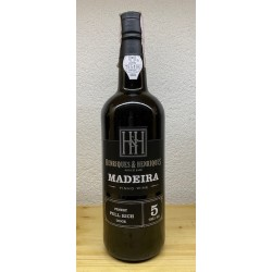 Madeira Finest Full Rich Doce 5 Years Old Henriques & Henriques