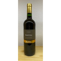 Banyuls Capbèart vin doux naturel Paul Herpe