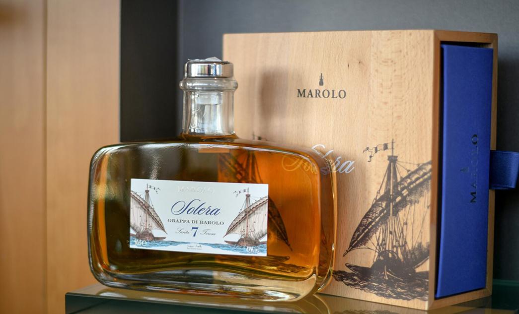 Grappa di Barolo Solera: c'è più gusto in casa Marolo!